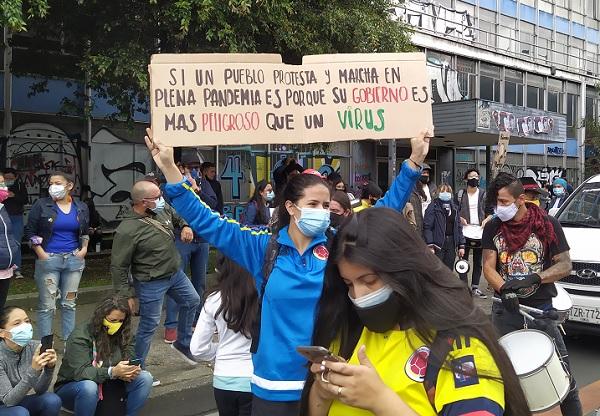 manifestation Colombie